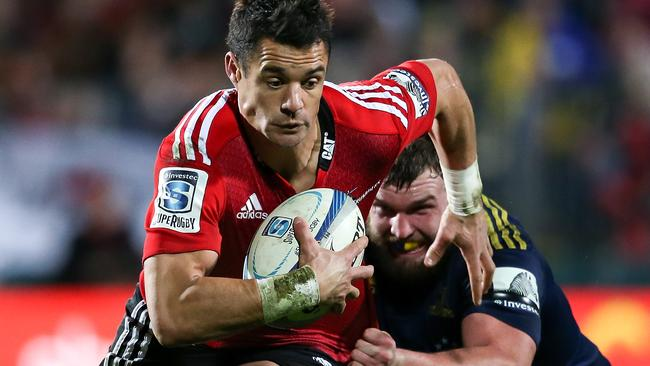 Dan Carter is looking sharper for the Crusaders.