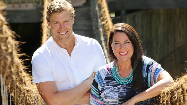 Will it be as popular this year? ... I'm a Celebrity ... Get Me Out of Here! hosts Chris Brown and Julia Morris