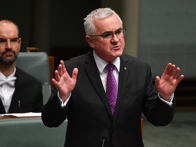 Independent Member for Denison Andrew Wilkie tabled the claims in Parliament. Picture: AAP