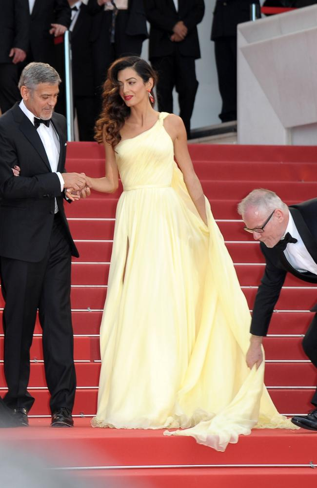 Amal Clooney steals the show at George's premiere in Cannes