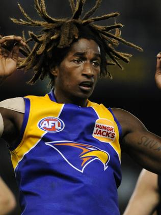 West Coast Eagles player Nic Naitinui.