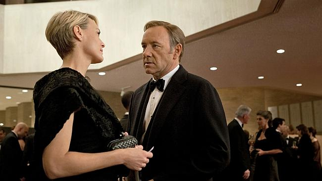 Kevin Spacey in House of Cards. What a nice fellow.