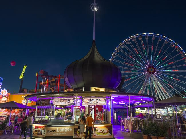 The incident took place in Vienna's famous Prater Park amusement park. Picture: Istock