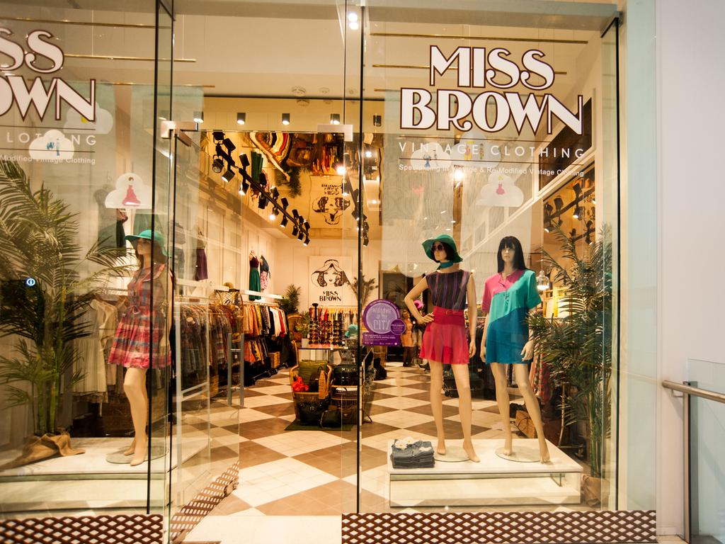 Windows of the City - 21 -Miss Brown Vintage. Photo: Manny Tamayo.