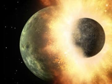 The planet Nibiru is supposed to be crashing into Earth. So far it's happened in