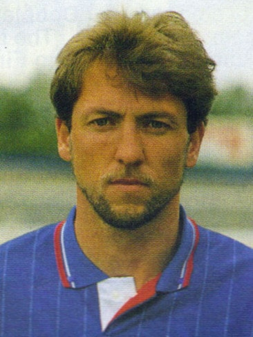 David Mitchell in his Chelsea days.