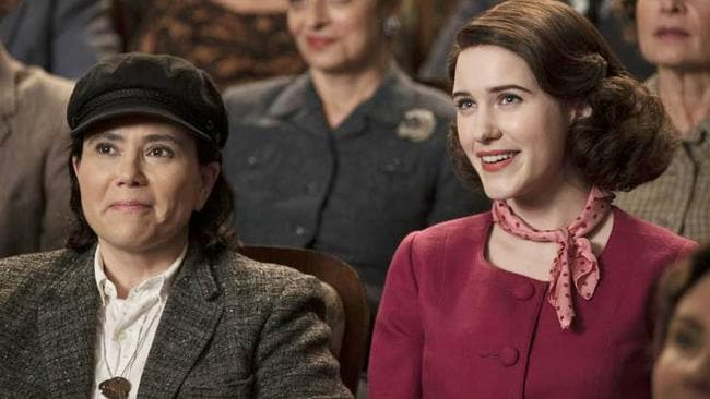 Marvelous Mrs Maisel marks the return of Alex Borstein (Drella and the original Sookie) to the Sherman-Palladino universe.