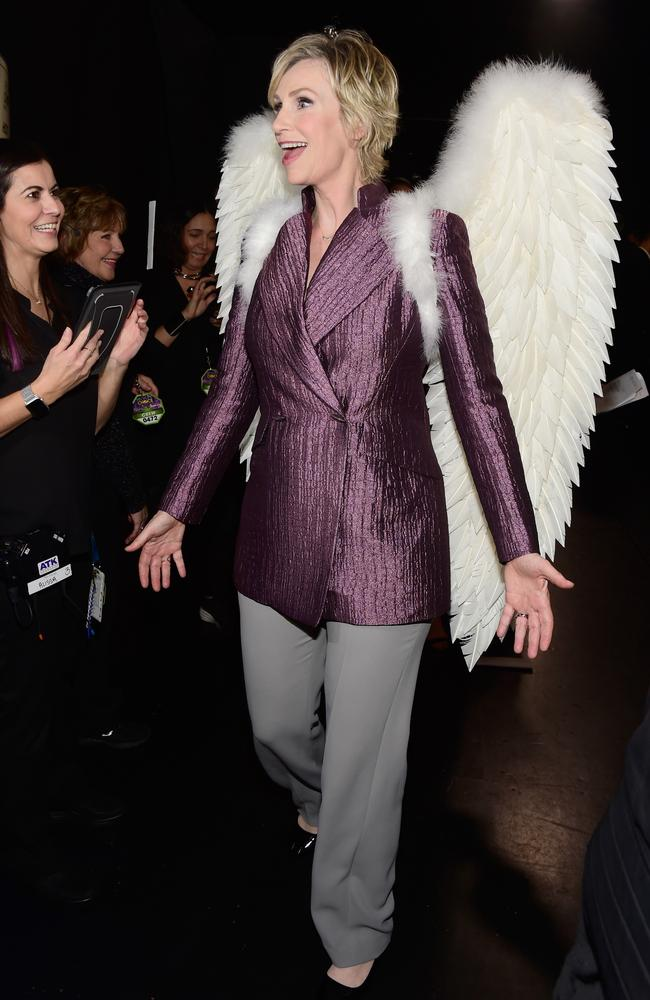 Host Jane Lynch attends the People's Choice Awards 2016. Picture: Getty