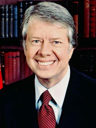 Jimmy Carter, former President of the USA.