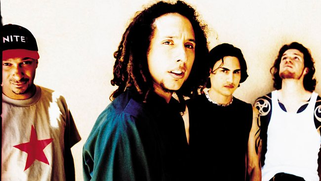 US band Rage Against the Machine. Picture: Bmg Sony /
