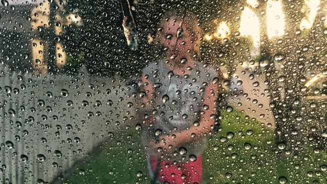 Doing the car wash ... shot on iPhone 6 on April 13 2015. Picture: Rod Chester