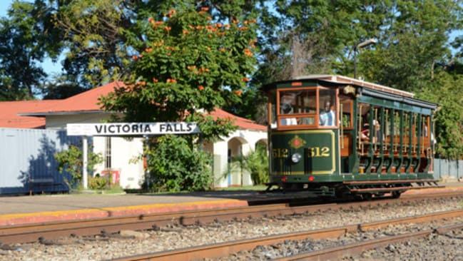 Victoria Falls Steam Train Company train.