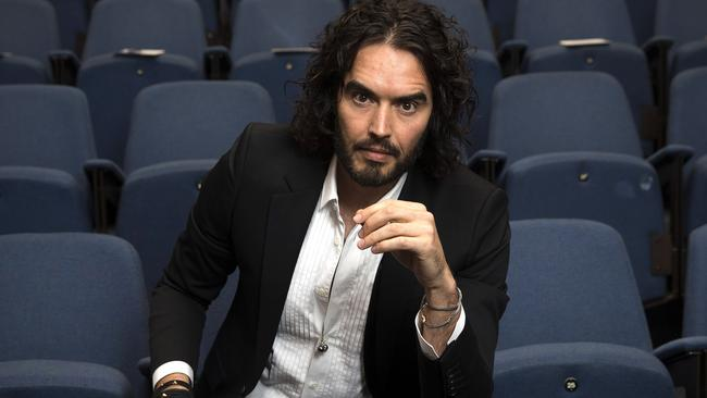 Russell Brand boasted about the kiss but admitted he couldn't recall it. Picture: Carl Court/Getty Images