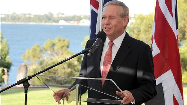 AUKMIN 2013 State Reception at Bluewater Grill in Applecross. pictured-Premier of Western Australia Colin Barnett