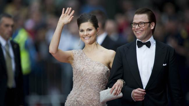 Sweden's Crown Princess Victoria (l) wed Daniel Westling in 2010. Photo: AFP