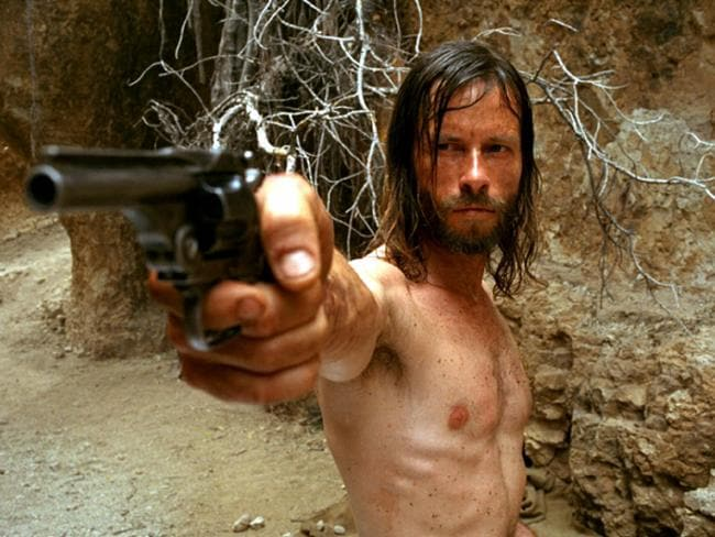 Guy Pearce's role in the 2005 film The Proposition.