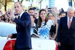 William and Kate greet the public at South Bank, Brisbane. Picture: Keayes Sarah