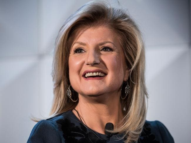 Arianna Huffington, Editor-in-Chief of the Huffington Post, copped a disturbing tweet from Donald Trump in 2012. Picture: Getty Images