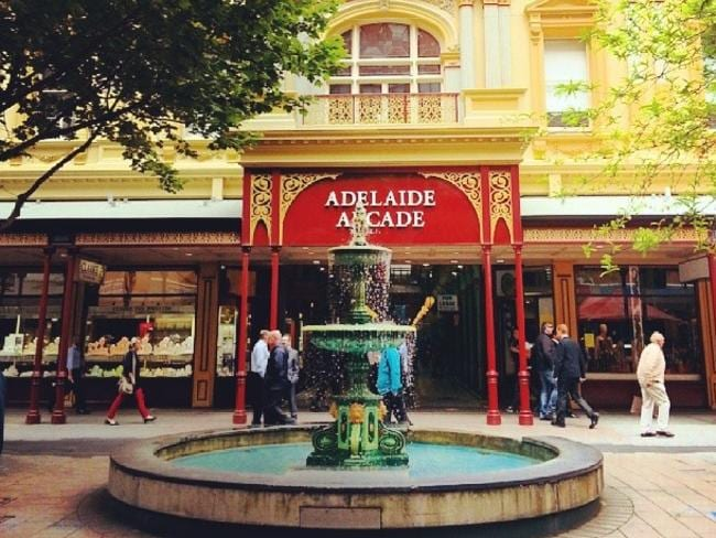 Adelaide Arcade in Rundle Mall has an interesting past. Picture: Duraid Sarsum