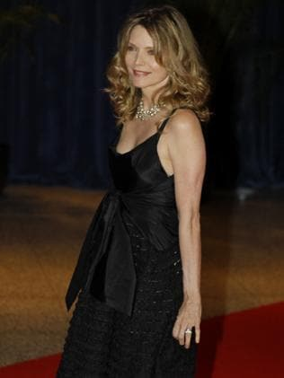 Michelle Pfeiffer attends the 2010 White House Correspondents' Dinner. Picture: AP