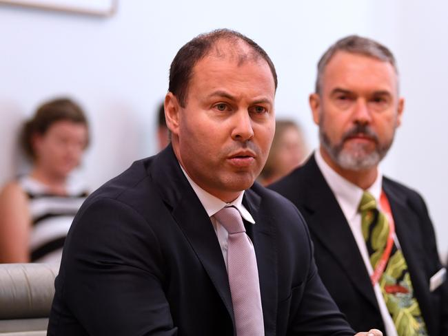 Minister Frydenberg has warned the plan could impact other states. Picture: AAP