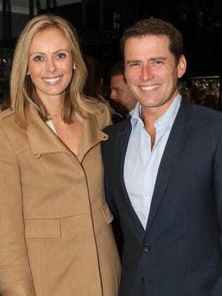 Sylvia Jeffereys with Pete's brother Karl Stefanovic.