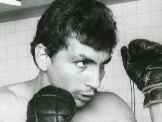 Spina during his boxing days.