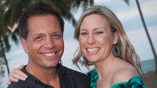 Justine Damond and her fiance Don Damond lived together for two years before her death. Photo: Supplied