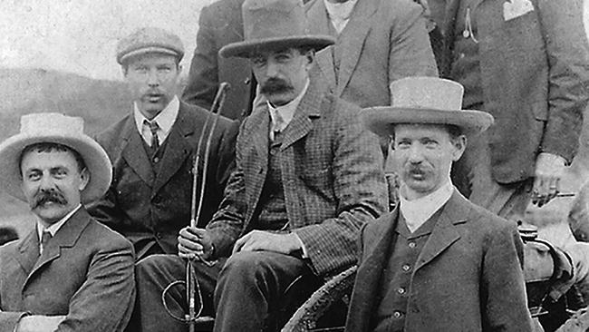 Early members of Ray White Real Estate agents. Picture: supplied.