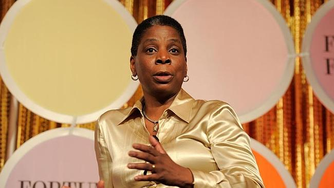 Xerox CEO Ursula Burns worked her way up after starting at the company as an intern. Picture: Getty.