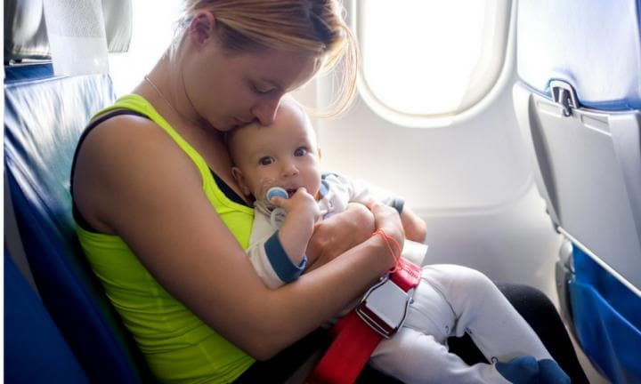 Are babies being put at risk on flights?