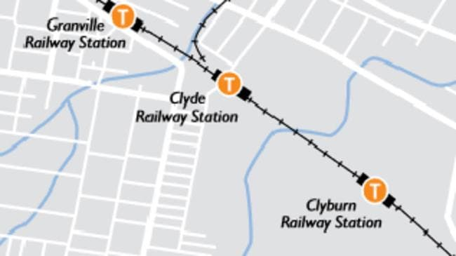 This map dates from late last year. But Clyburn station closed decades ago. Picture: Supplied