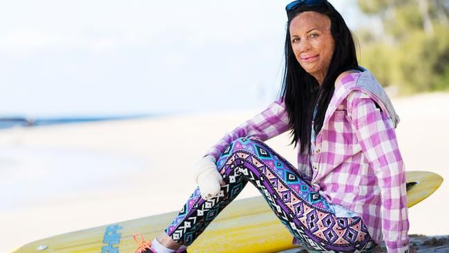 Turia Pitt thrives on overcoming the odds.