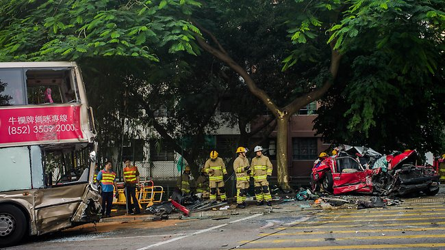 Hong Kong crash