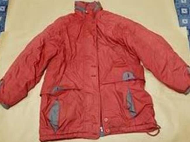 Sue Neill-Fraser initially told police she didn't own this jacket found near the scuttled yacht, but later admitted it was hers.