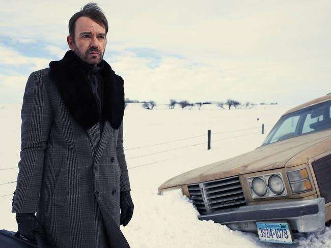 Billy Bob Thornton stars as the frightening Lorne Malvo in FX's drama series Fargo.