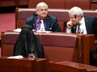 "should australia ban the burqa A n australian politician has caused uproar by wearing a burka in parliament pauline hanson has been condemned for an ""appalling"" stunt in which she wore the burka as part of her push to ban it."