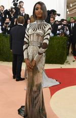 "Model Jourdan Dunn attends the ""Manus x Machina: Fashion In An Age Of Technology"" Costume Institute Gala at Metropolitan Museum of Art on May 2, 2016 in New York City. Picture: Larry Busacca/Getty Images"