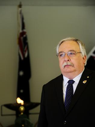 Disappointed by speech ... NSW RSL President Don Rowe. Picture: John Appleyard