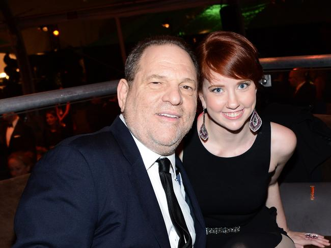 Weinstein and his daughter Remy Lily. Picture: Getty