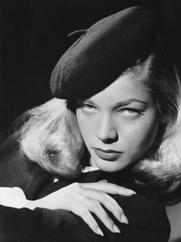 Circa 1945: American screen star Lauren Bacall, whose successful film career spanned more than fifty years. Picture: Getty