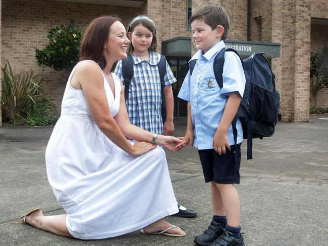 A record number of 48 deaf children will start school across NSW, ACT and Tasmania this year. Picture: Mark Scott/News Corp Australia.