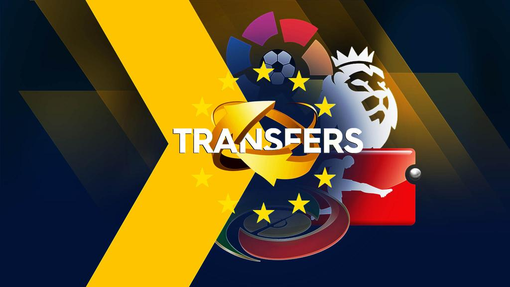 Transfer Centre: Europe's top 5 leagues.