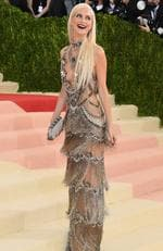 "Poppy Delevingne attends the ""Manus x Machina: Fashion In An Age Of Technology"" Costume Institute Gala at Metropolitan Museum of Art on May 2, 2016 in New York City. Picture: Larry Busacca/Getty Images"