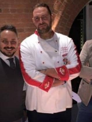After ... Chef Cozzolino looking good after his weight loss. Picture: Facebook