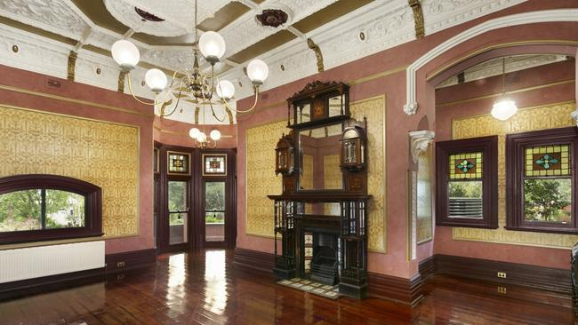 There is no shortage of period features in the home. Source:Supplied