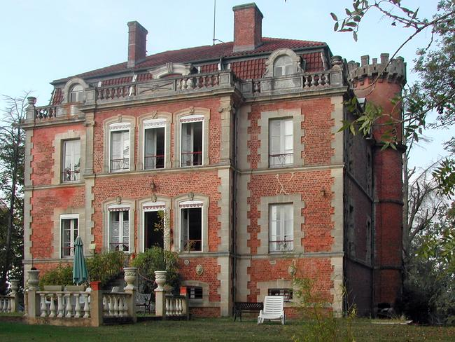 A mansion in the Midi Pyrenees.
