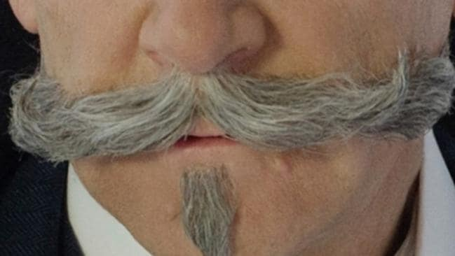 "The Poirot mega-moustache : ""a Harbour Bridge of hair"""