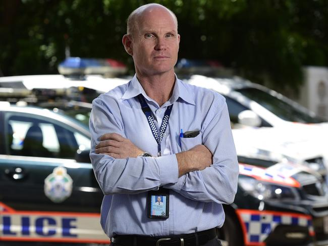 Inspector Joe Kitching is commander of Townsville's Rapid Action Patrol unit.