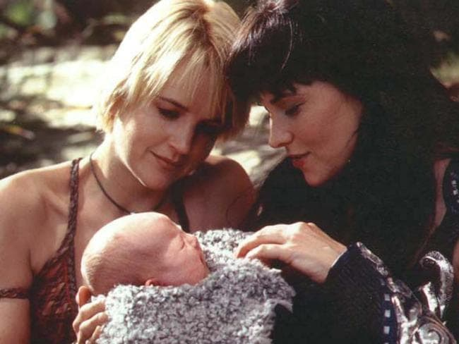 "Xena was ""definitely gay"", according to Lawless."